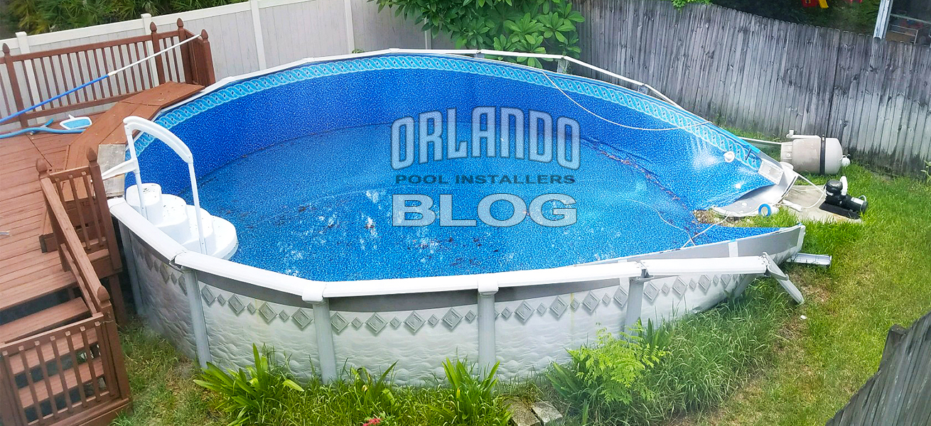 Above Ground Pool Fail In Orlando