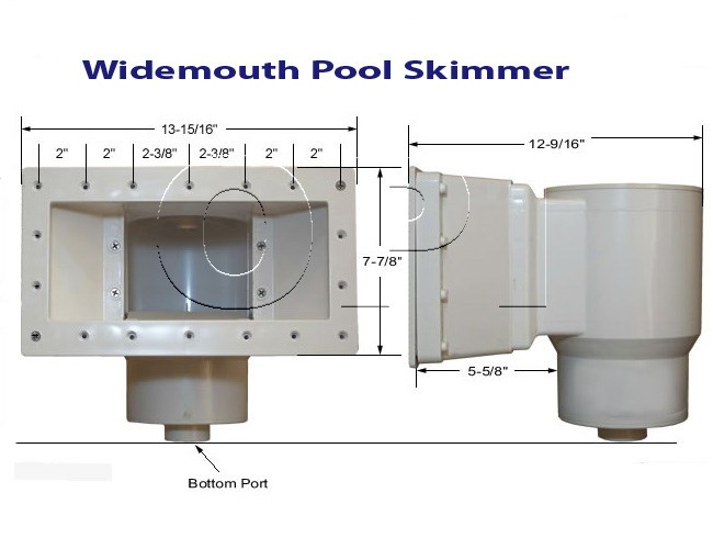 Widemouth Pool Skimmer Orlando Above Ground Pools