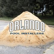 Sand And Above Ground Pool Installation