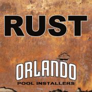 Above Ground Pool Rust Top Rail Ledge